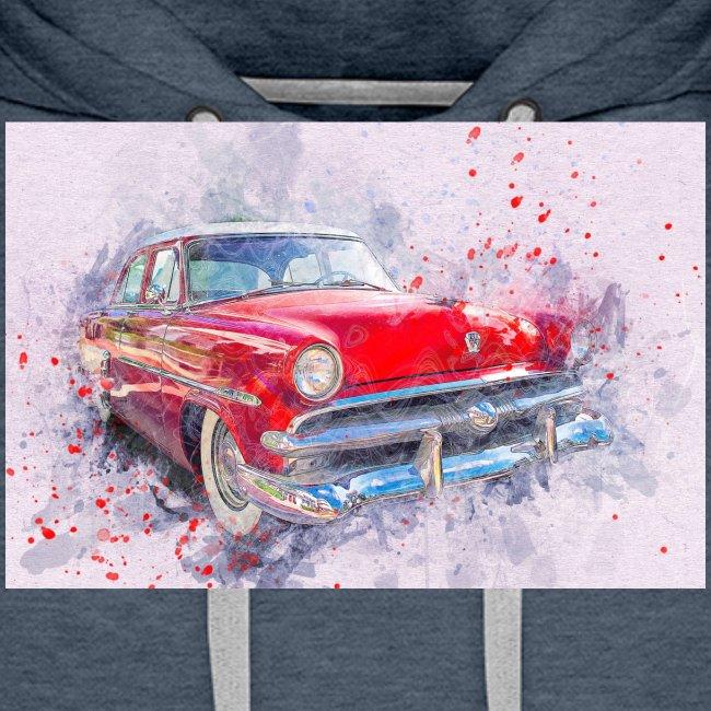 Ein Schönes Retro Auto t-shirt