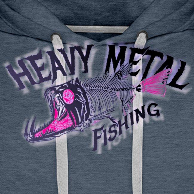 heavy metal red pink.logo