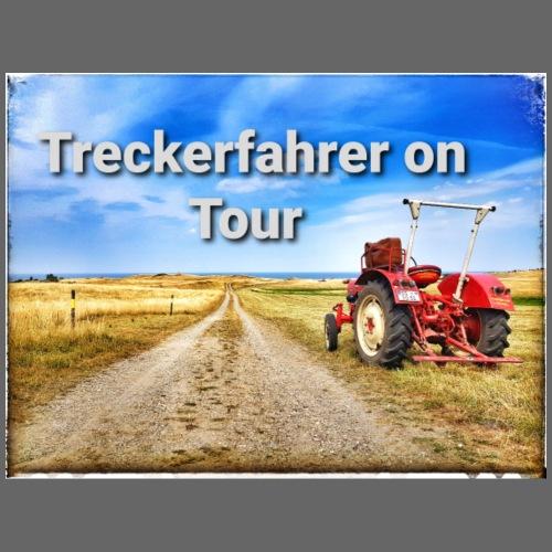 Treckerfahrer on Tour - Männer Premium Hoodie