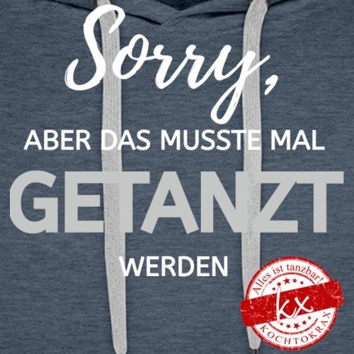 Sorry wg - Männer Premium Hoodie