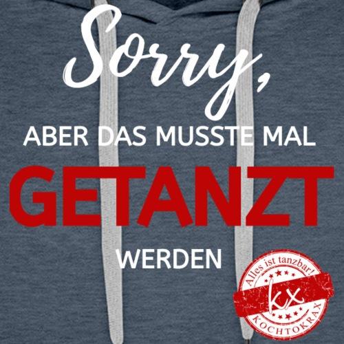 Sorry wr - Männer Premium Hoodie