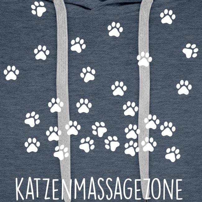 Vorschau: Katzen Massage Zone - Männer Premium Hoodie