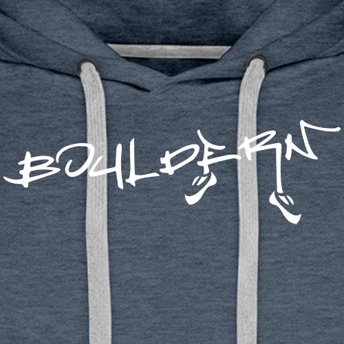 Bouldern - Männer Premium Hoodie