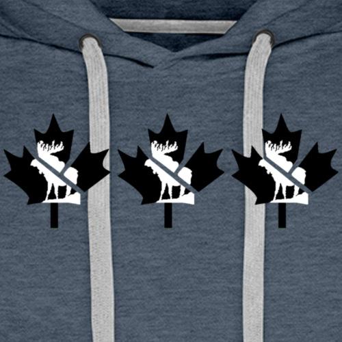 FanTee Canada-Leaf Winter Collection - Männer Premium Hoodie