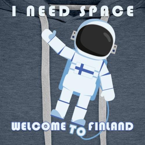 Space - Miesten premium-huppari