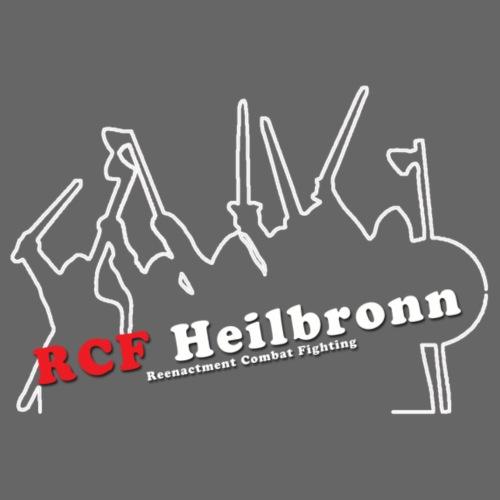RCF Heilbronn - weißes Logo - klein - Männer Premium Hoodie
