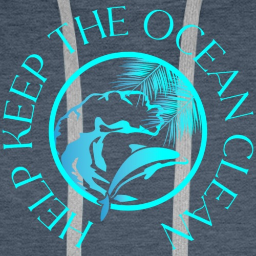 Help keep the ocean clean - Männer Premium Hoodie