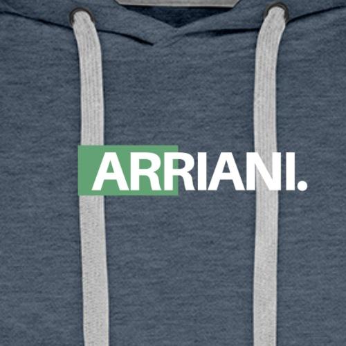ARRIANI - Sudadera con capucha premium para hombre
