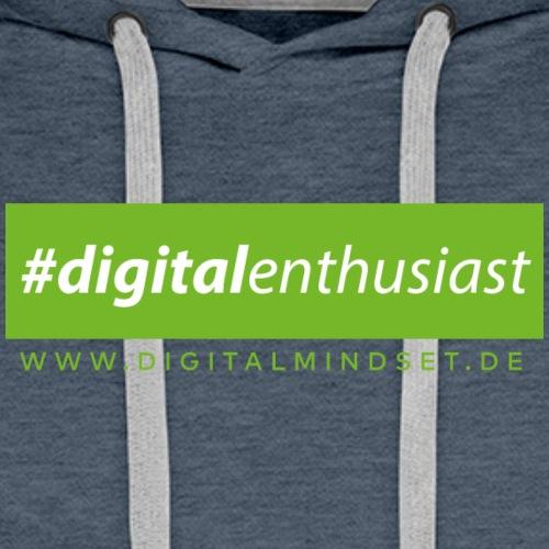 #digitalenthusiast - Männer Premium Hoodie