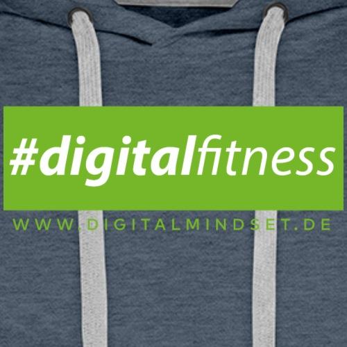 #digitalfitness - Männer Premium Hoodie