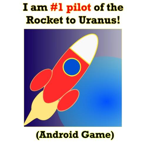 Rocket to Uranus - Miesten premium-huppari