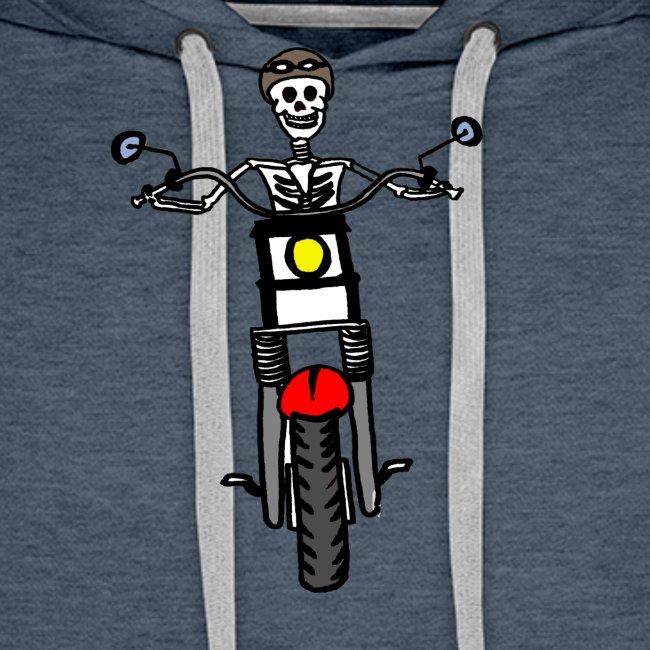 calavera moto