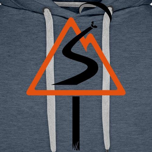 Spirit parapente - Sweat-shirt à capuche Premium pour hommes