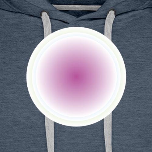 odcienie - Bluza męska Premium z kapturem