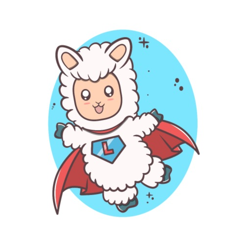 Super Llama - Herre Premium hættetrøje