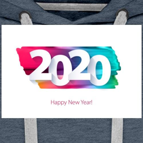 Happy new year 2020 - Männer Premium Hoodie