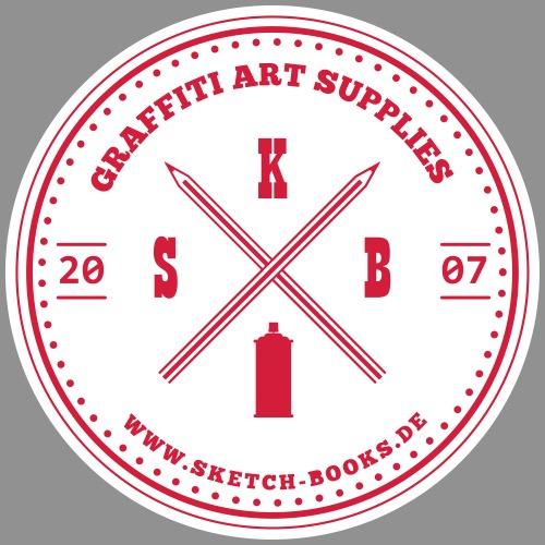 Sketch Books Logo (2C) - Männer Premium Hoodie