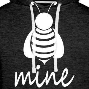 Bee_mine - Men's Premium Hoodie