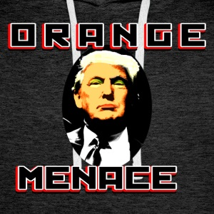 ORANGE MENACE - Mannen Premium hoodie