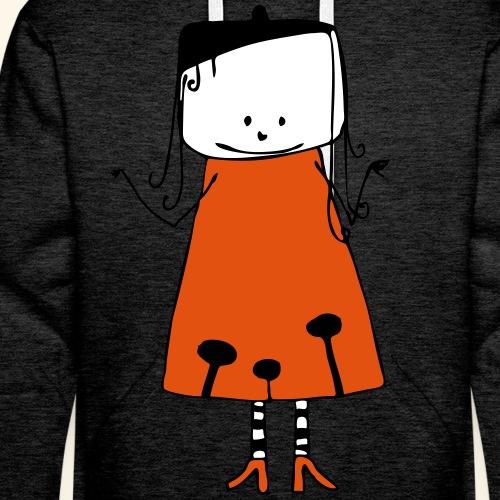 fille1 - Sweat-shirt à capuche Premium pour hommes