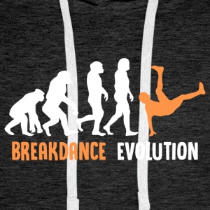 ++ ++ Breakdance Evolution - Mannen Premium hoodie