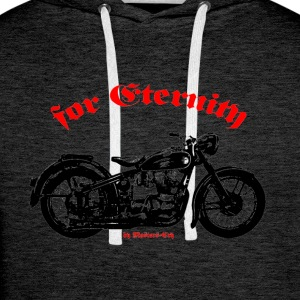 Old Bike - Men's Premium Hoodie