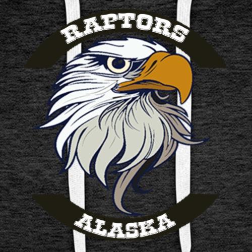Alaska Raptors - Sudadera con capucha premium para hombre