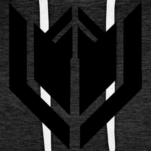 Schlicht gehaltene Klamoten nur mit Logo - Männer Premium Hoodie