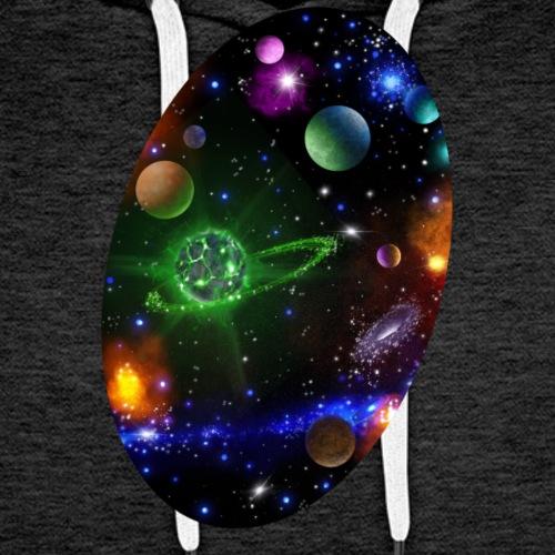 Galaxy - Sweat-shirt à capuche Premium pour hommes