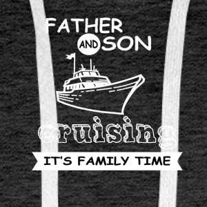 Father And Son - Cruising - Men's Premium Hoodie