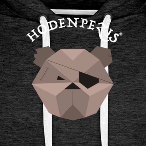 HODENPEZIS Origin Team White - Männer Premium Hoodie