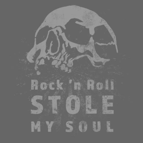 Rock n roll stole my soul - Premiumluvtröja herr