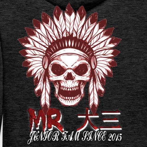 MRj skull - Premium hettegenser for menn