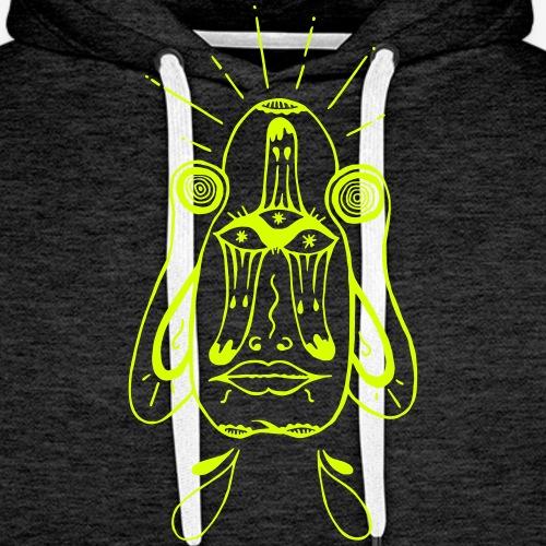 updown - Sweat-shirt à capuche Premium pour hommes