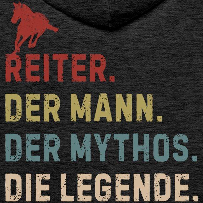 Vorschau: reiter legende - Männer Premium Hoodie