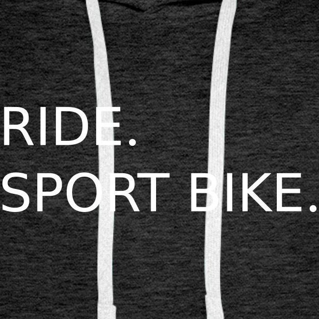 RIDE. SPORT BIKE. 0SB12