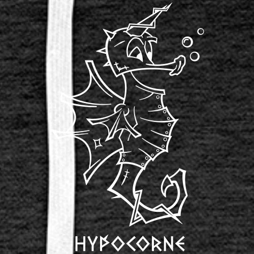 L'Hypocorne - Sweat-shirt à capuche Premium pour hommes