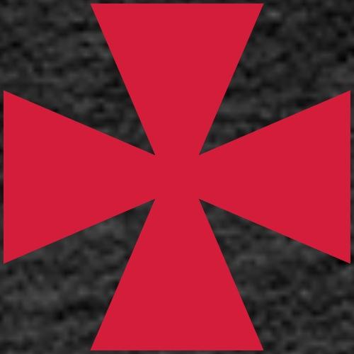 Templar Cross - Men's Premium Hoodie