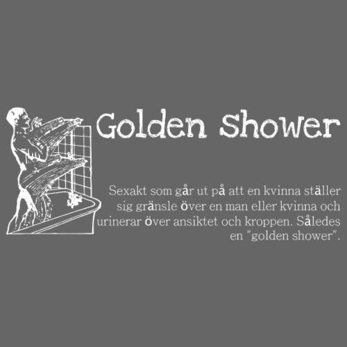 Golden shower - Premiumluvtröja herr