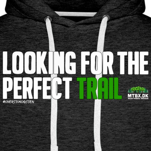 Looking for the perfect trail - Herre Premium hættetrøje
