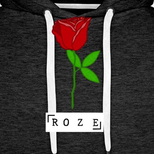 Roze - Männer Premium Hoodie