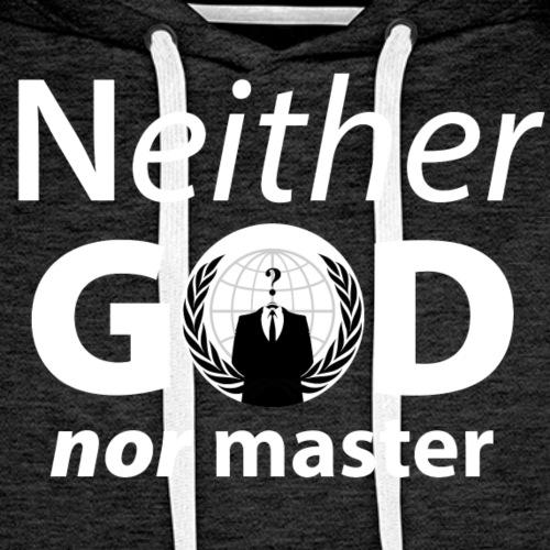 Anonymous Anarchist - Sweat-shirt à capuche Premium pour hommes