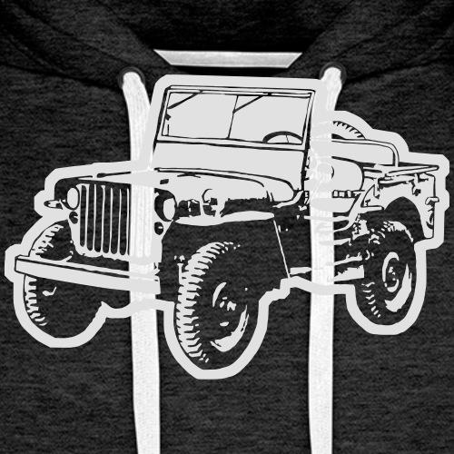 Jeep (Differenzbild) - Männer Premium Hoodie