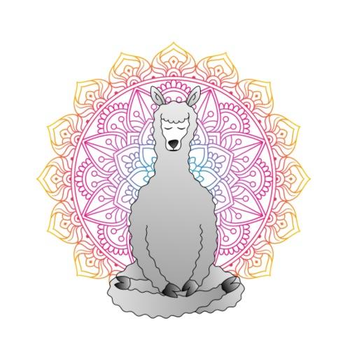Meditating Llama - Herre Premium hættetrøje