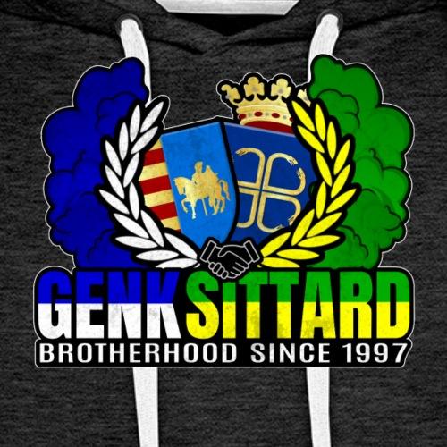 Confrérie depuis 1997 - Sittard & Genk - Sweat-shirt à capuche Premium pour hommes