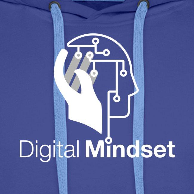 Digital Mindset Logo Weiß