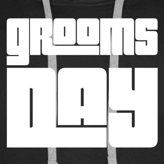 GroomsDay white