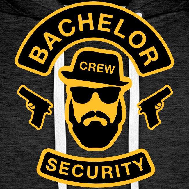 Bachelor Security - JGA T-Shirt - Bräutigam Shirt