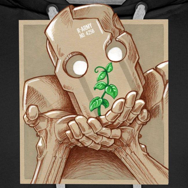 robot plant leaf leaves war