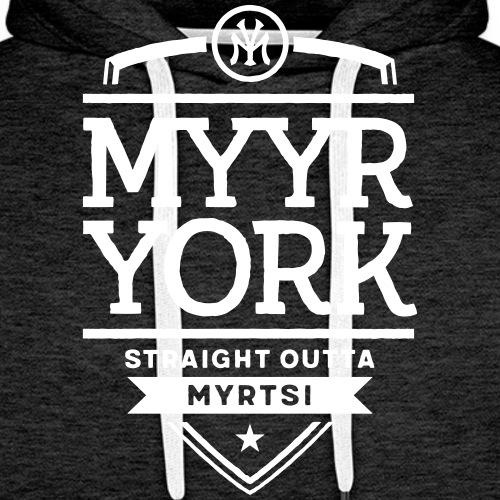 Myyrmäki - Straight Out - Miesten premium-huppari